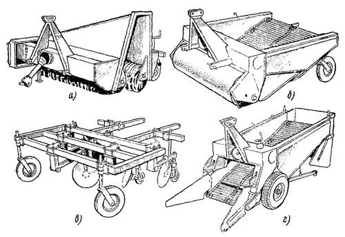 Комплекс машин для уборки лука