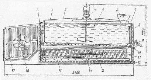 Танк ТОМ-2А для охлаждения и