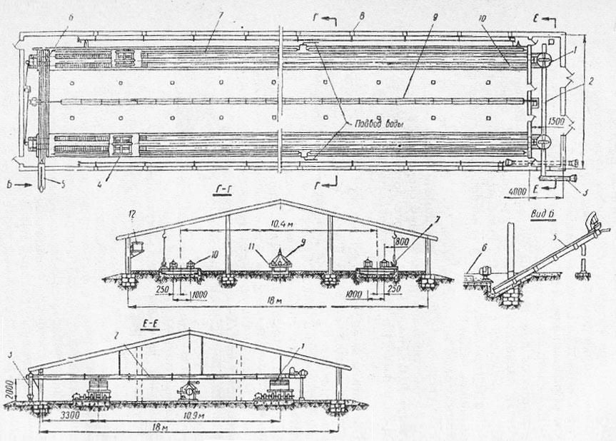 Схема расположения комплекта
