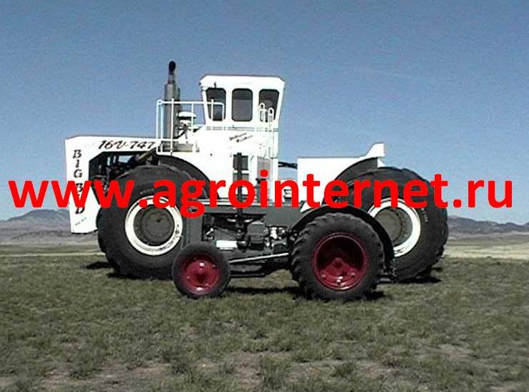 самых больших тракторов